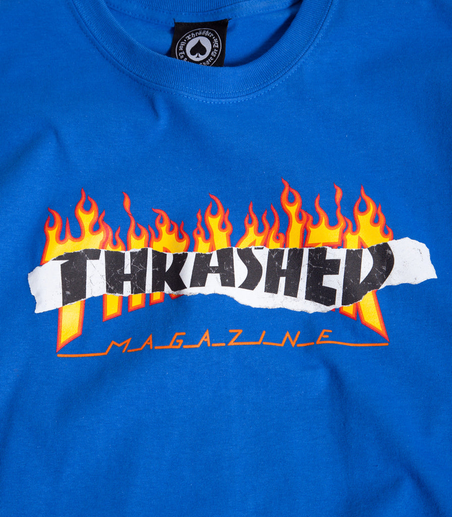 Thrasher Ripped T-Shirt