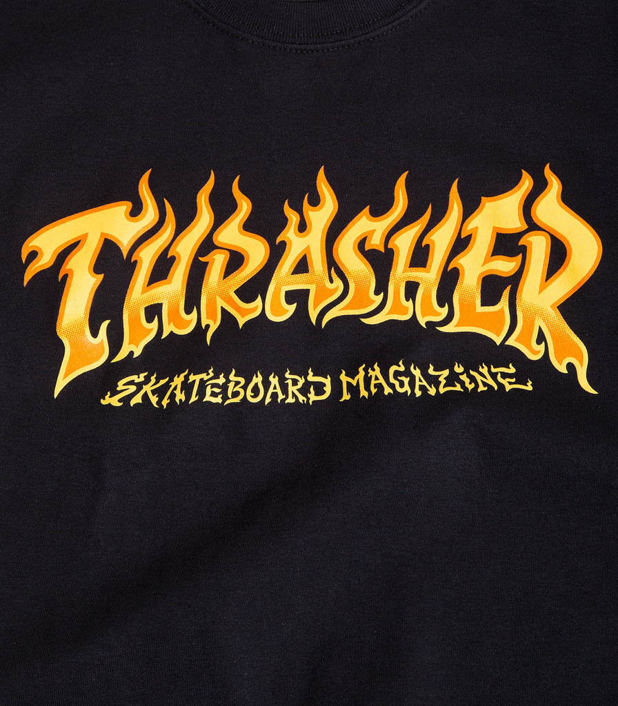 Thrasher Fire Logo T-Shirt
