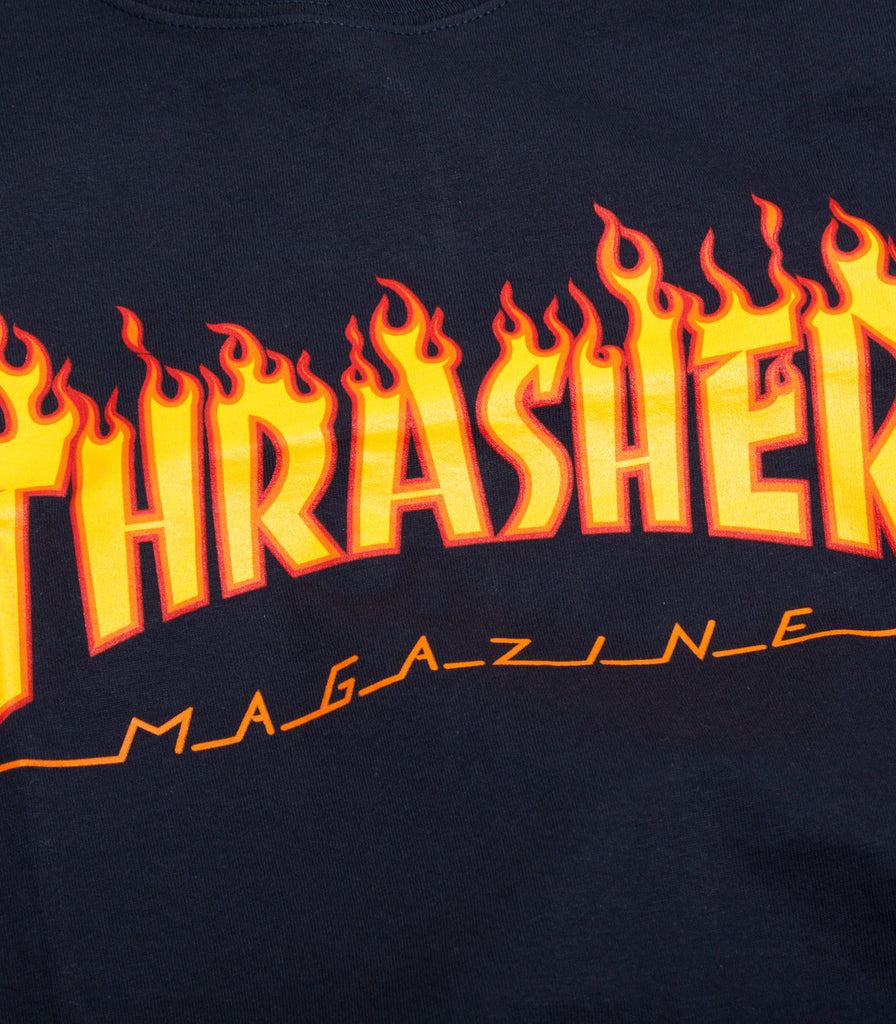 Thrasher Flame Logo T-Shirt