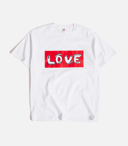 No Focus Arts Love Red Block T-Shirt