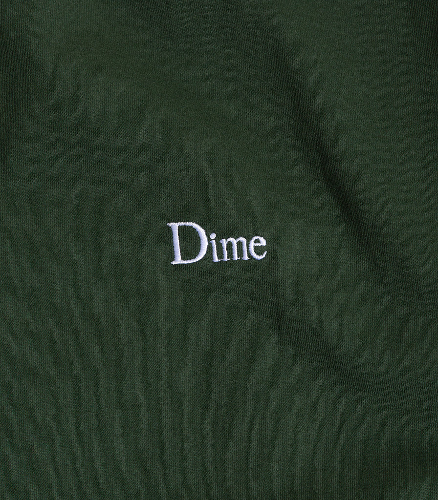 Dime Classic Logo Embroidered T-Shirt