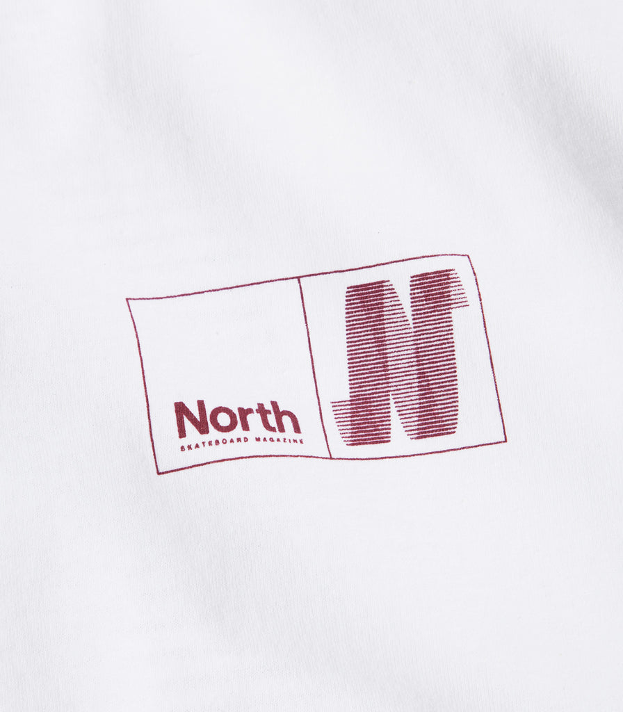 North Skate Mag N Logo T-Shirt