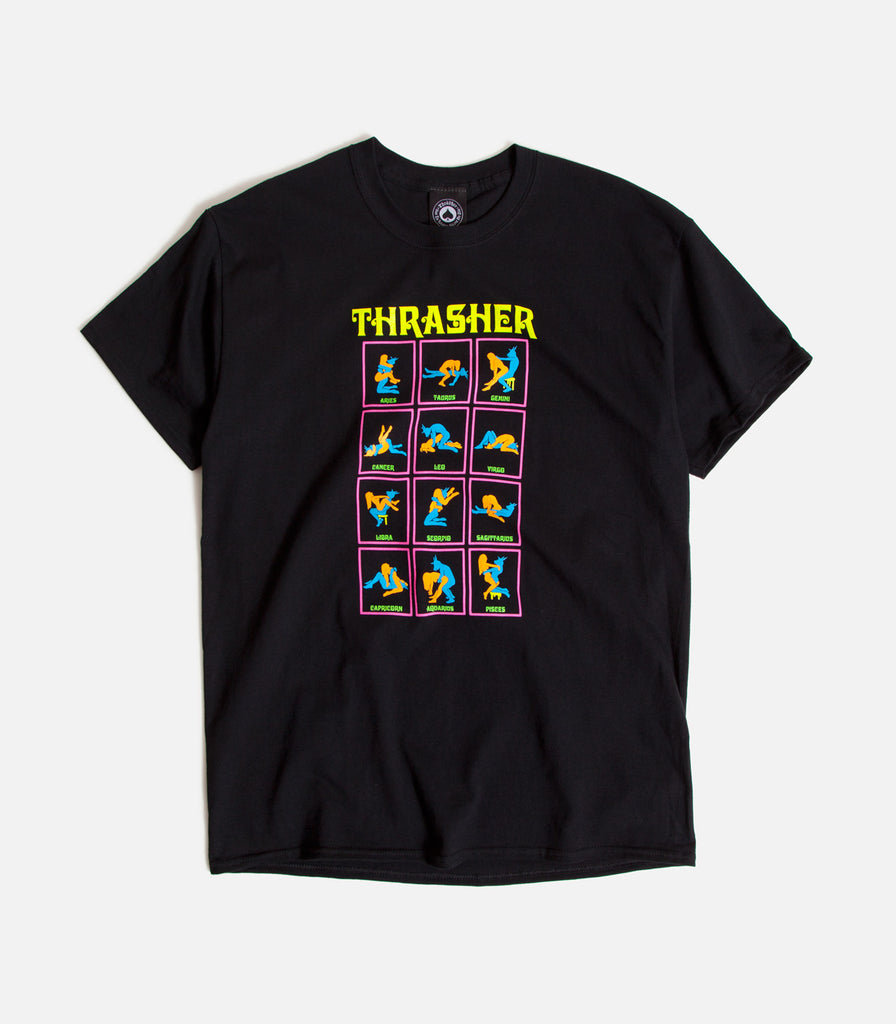 Thrasher Black Light T-Shirt