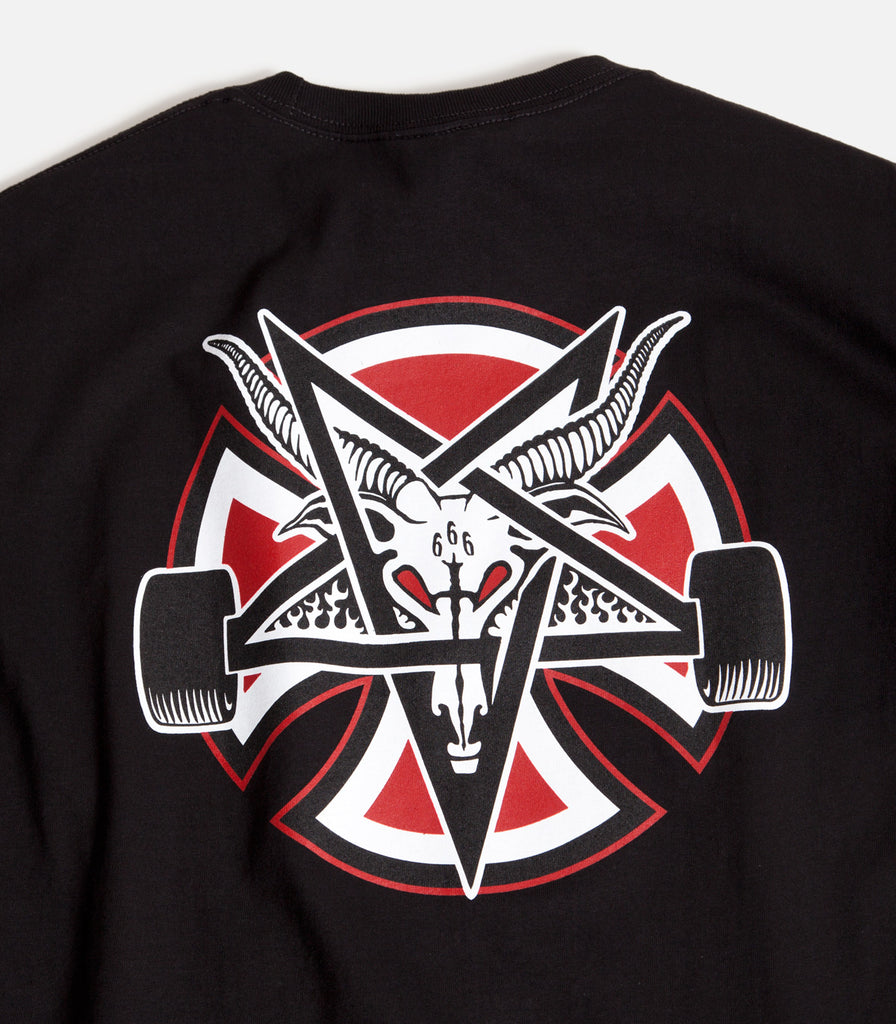 Independent x Thrasher Pentagram Cross T-Shirt