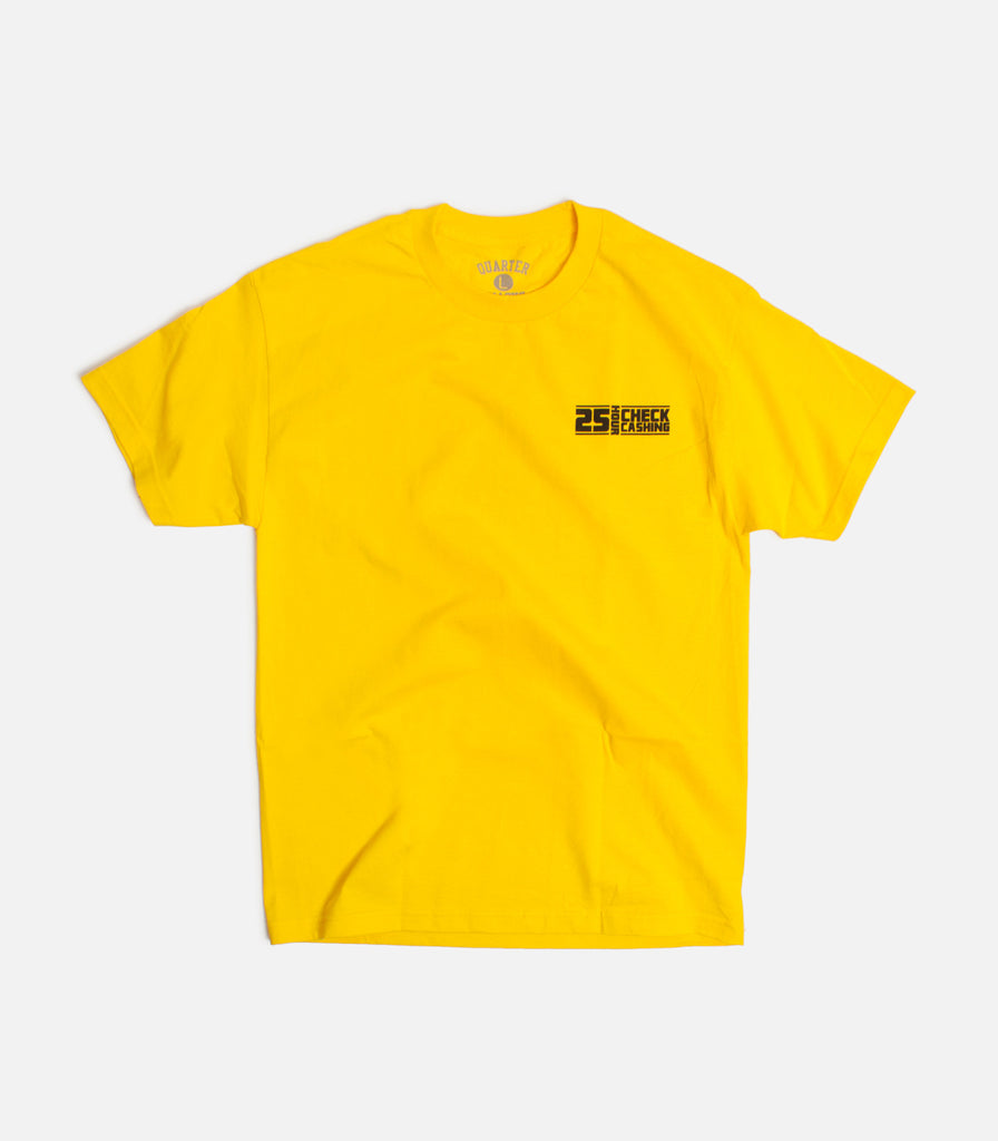 Quartersnacks Check Cashing T-Shirt