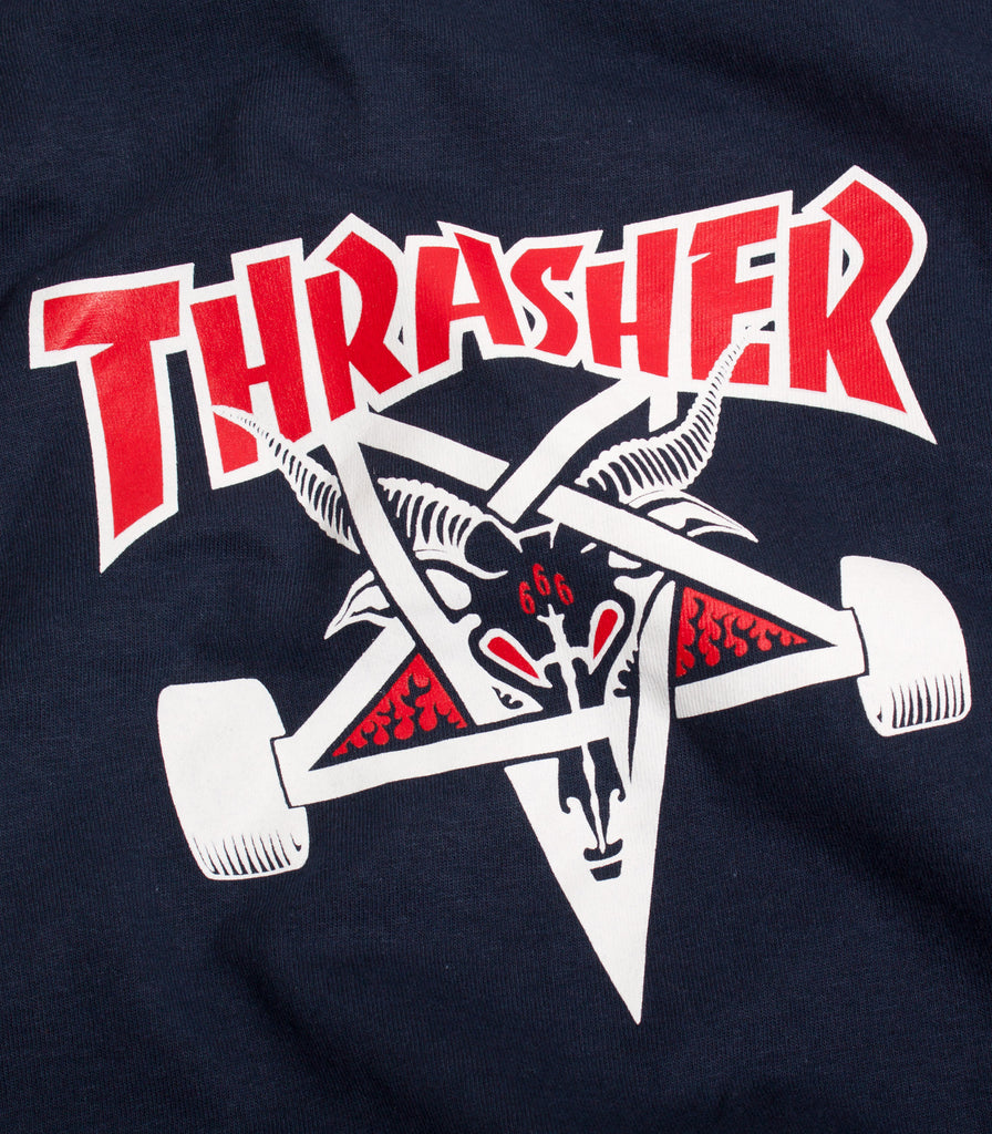 Thrasher Skate Goat Two Tone T-Shirt