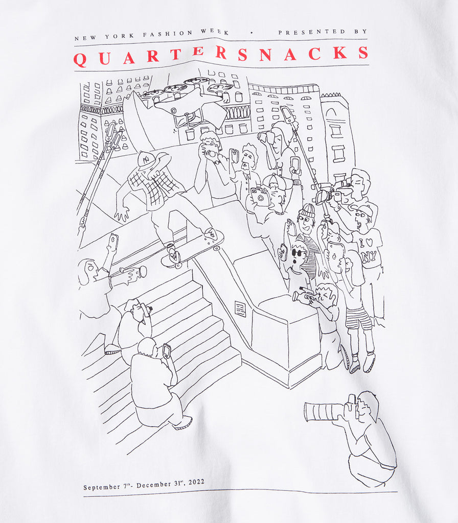 Quartersnacks Presented By T-Shirt