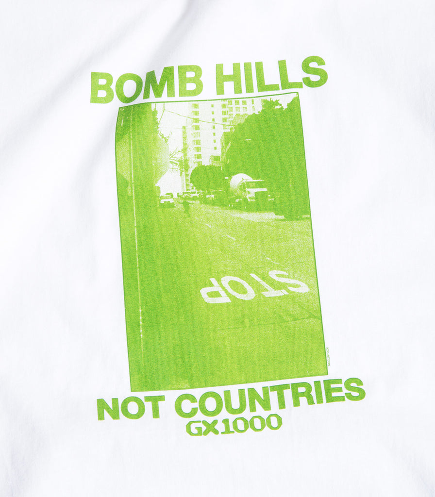 GX 1000 Bomb Hills Not Countries T-Shirt