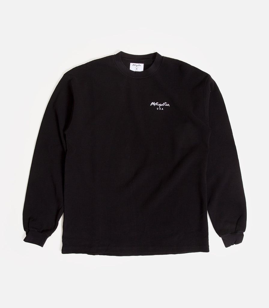 Metropolitan Embroidered Waffle Thermal