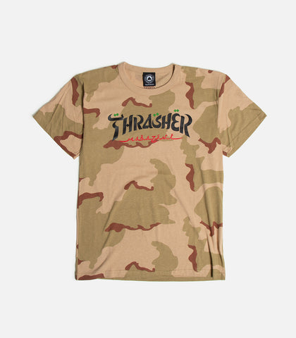 Thrasher Calligraphy T-Shirt