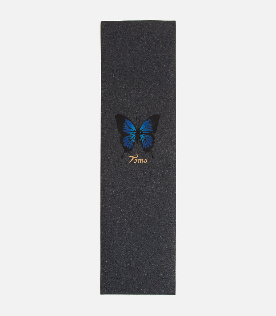 Tomo Skate Co. Butterfly Blue Griptape