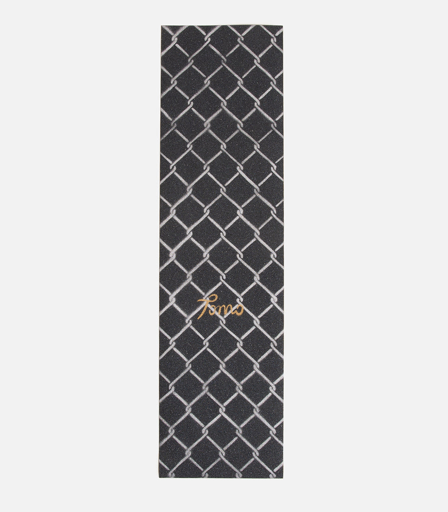 Tomo Skate Co. Chain Link Silver Griptape