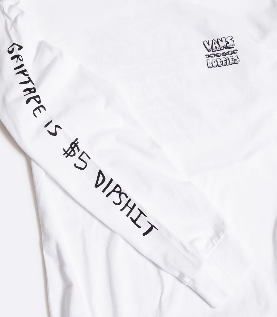 Vans X Lotties Skate Long Sleeve T-Shirt