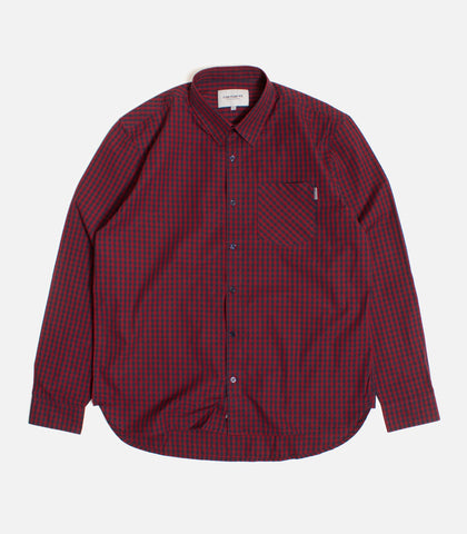 Carhartt WIP Preston Check Button Down Shirt
