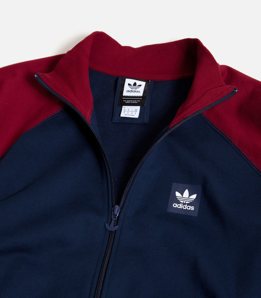 Adidas Full Zip Rugby Sweatshirt