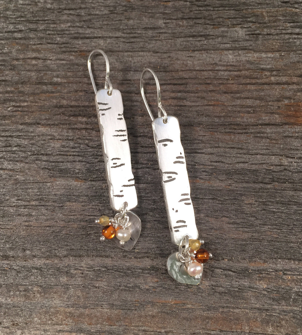 Aspen Bark Earrings