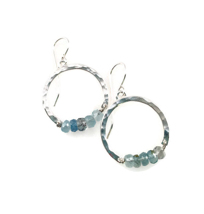 Icy Moon Earrings