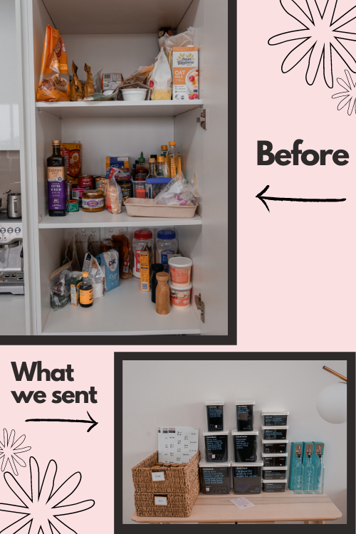Pantry Transformation Before Ellie Parker