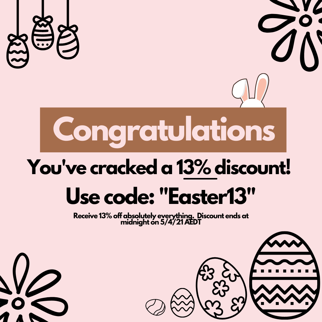 Pretty Pantry Labels Easter Promotion