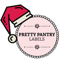 Pretty Pantry Labels