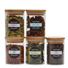 Spice Jar Labels - Design 3