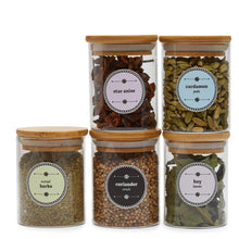 Spice Jar Labels - Design 4