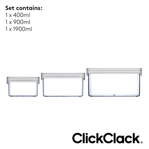 ClickClack® Basics Set of 3 - Small
