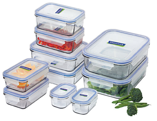 Glasslock Food Containers - 10 piece set