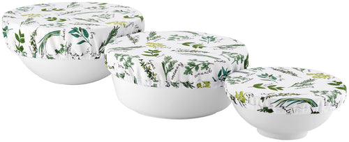 Ladelle Stretch Bowl Covers - 3pk - Herbology