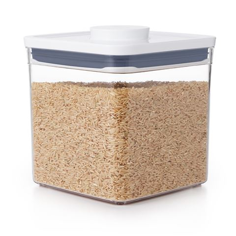 OXO Good Grips POP 2.0 Pantry Containers - Big Square, Short - 2.6l
