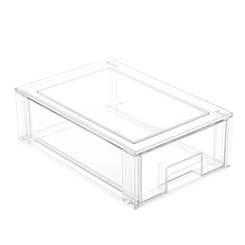 Crystal Stackable Organiser Drawer - 32 x 21 x 10.5cm - Medium