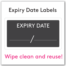 Expiry Date Labels and removable white pen