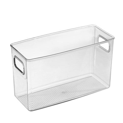 Clear Storage Container - 25 x 10 x 15cm