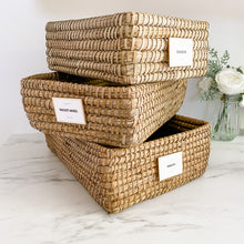 Palm Leaf Straw Trays/Baskets - Multiple Sizes