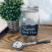 Vegetable Stock Paste label pack