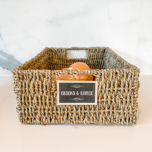Natural Seagrass Baskets - Multiple Sizes
