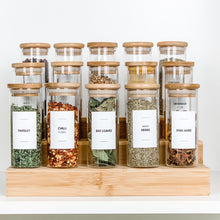 Spice Jar Labels - Design 26