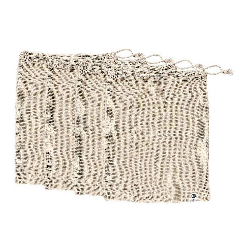 Ladelle Eco Recycled Natural Mesh Produce Bag - Set of 4