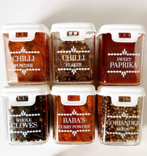 Spice Jar Labels - Design 6 for Mobins