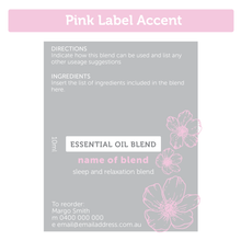 Essential Oil Bottles & Labels