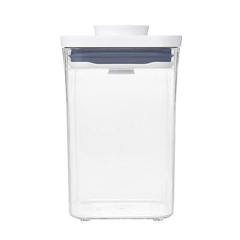 OXO Good Grips POP 2.0 Pantry Containers - Small Square, Short - 1L