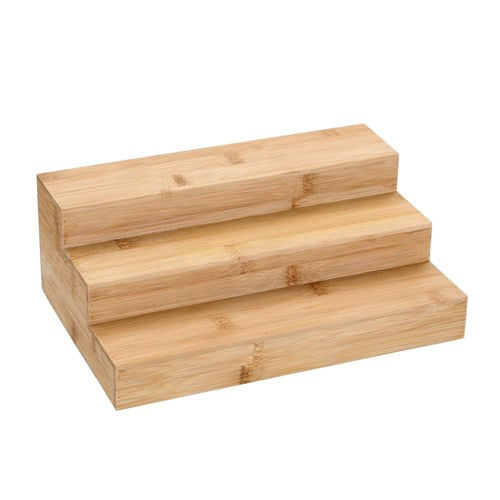Bamboo 3 Tier Shelf - Spice Step