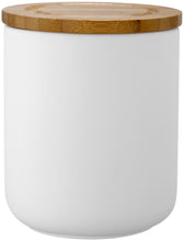 Medium Ladelle Stak Soft Matt Canister - White