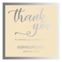 """Thank You"" Party Favour Labels & Jars - Pack of 10"