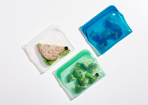 Ladelle Eco Store It Zip Lock Bag - Sandwich Size