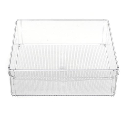 Clear Fridge/Pantry Tray - 30x30x10cm