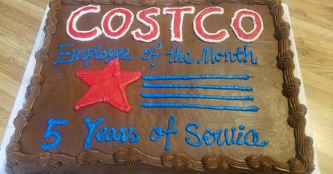 Pleasing A Little Girl Loves Costco So Much Her Mother Made A Costco Theme Personalised Birthday Cards Epsylily Jamesorg