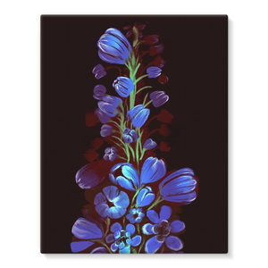 Birth Flowers canvas