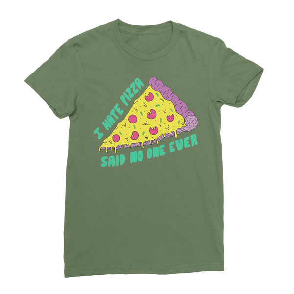 i hate pizza t-shirt