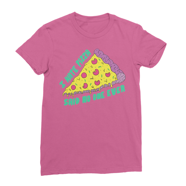 love pizza t-shirt pink